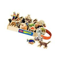 T.S. Shure Favorite Pets Wooden Magnets 20 Piece MagnaFun
