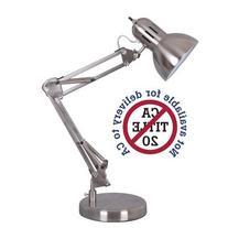 Alvin FD206ST Architect Desk Lamp, Satin Steel Finish