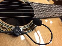 """""""THE FEATHER"""" GYPSY JAZZ GUITAR PICKUP with FLEXIBLE MICRO-"""