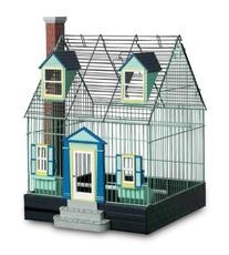 Prevue Pet Products Featherstone Heights Cape Cod Bird Home