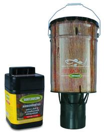 Moultrie Feeders 6 Gallon Automatic Pond Fish Feeder + 6V