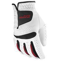 Wilson Feel Plus Men's Golf Glove, Medium