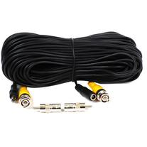 VideoSecu 12 Pack 100ft Feet BNC RCA Video Power Cables CCTV