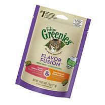 Greenies Feline Dental Treats Flavor Fusion Salmon And