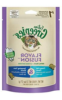 Greenies Feline Ocean Fish & Tuna Dental Cat Treats, 2.5-oz