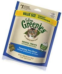 FELINE GREENIES  6-Ounce Package, Tuna