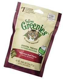 GREENIES 6-Pack Felines Greenies, Beef, 15-Ounce