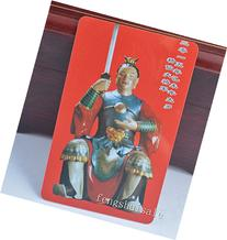 Feng Shui Chinese Tai Sui Card Amulet for Protect + Free Red