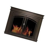 Pleasant Hearth Fenwick Cabinet Style Fireplace Screen &