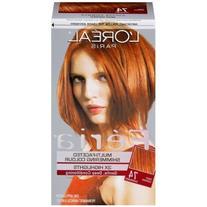 L'Oréal Paris Feria Permanent Hair Color, 74 Copper Shimmer