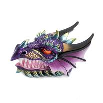 Gifts & Decor Ferocious Mythical Dragon Head Treasure