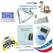 Fetal Doppler FDA Safe NEW Prenatal Fetal Heart rate unburn
