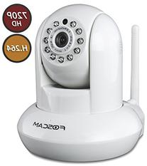 Foscam FI9821W Indoor Pan/Tilt H.264 720p Wireless IP Camera