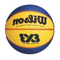 Wilson Official FIBA Game Basketball, 3 x 3