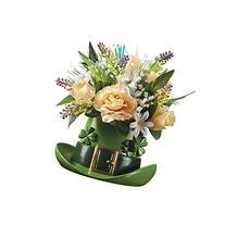 Fiber Optic St. Patrick's Day Floral Centerpiece