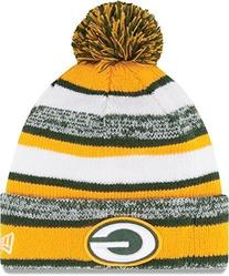 New Era On field Sport Knit Green Bay Packers Game Hat Green