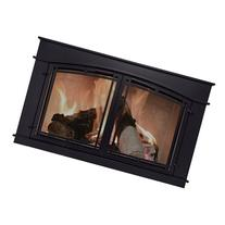 Pleasant Hearth Fieldcrest Fireplace Glass Door - Black,