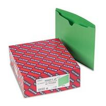 * File Jackets, Reinforced Double-Ply Tab, Letter, 11 Point