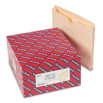 """Smead File Jackets w/Double-Ply Top and 2"""" Expansion, Ltr,"""