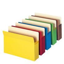 "Smead File Pocket, Straight-Cut Tab, 3-1/2"" Expansion,"