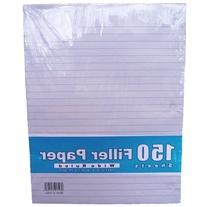 Mead Filler Paper, Loose Leaf Paper, Wide Ruled, 150 Sheets/