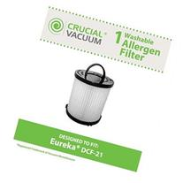 Crucial Vacuum Filter; Long-Life WASHABLE/REUSABLE &