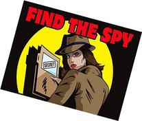Find the Spy: Ms. Crimson  Mystery Game