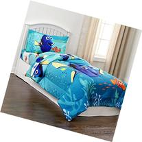 Disney Finding Dory 4 Piece Bedding Set Comforter and Sheets