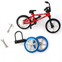 Man Friday Finger Bicycle Bike Mini Toy Alloy Multi-color