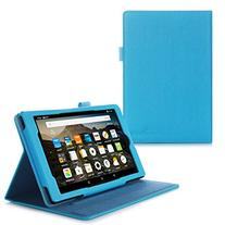 Fire HD 8 2015 Case, rooCASE  Fire HD 8 Dual View PU Folio