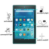 OMOTON All-New Fire HD 8  Screen Protector,    Tempered