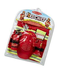 MELISSA AND DOUG FIRE CHIEF COSTUME