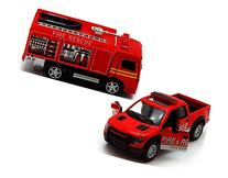 Fire Rescue Company 1/46 Scale 5-inch Fire Truck SET of 2