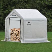 ShelterLogic Firewood Seasoning Shed