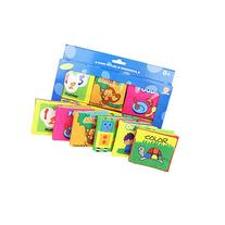 Baby's First Non-Toxic Fabric Book Soft Cloth Book Set-