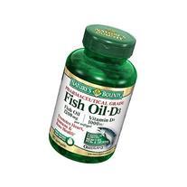 Fish Oil + D3, 1200mg & 1000 IU, Softgels--90 ea