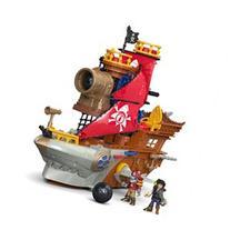 Fisher-Price Imaginext Shark Bite Pirate Ship Playset