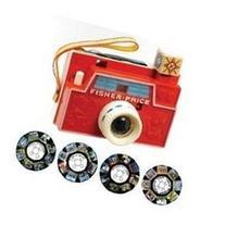 Basic Fun Fisher Price Retro Changeable Disc Camera