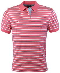 Tommy Hilfiger Mens Classic Fit Knit Cotton Striped Polo