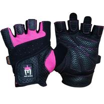 Meister Women's Fit Grip Weight Lifting Gloves w/ Washable