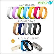 WoCase Fitbit Flex Wrstband RAINBOW Pack of 7 Accessory