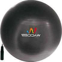 Wacces Fitness and Exercise Ball 65cm Black