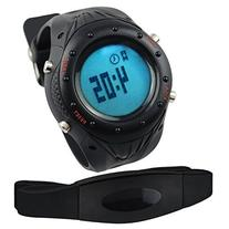 Digital Sports Fitness Watch Heart Rate Monitor Pedometer