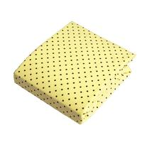 Luvable Friends Fitted Knit Crib Sheet, Yellow