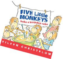 Astonishing Five Little Monkeys Searchub Personalised Birthday Cards Vishlily Jamesorg
