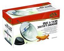 Zilla Reptile Terrarium Heat Lamps, Mini Halogen & UVB Combo