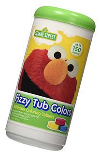 Sesame Street Fizzy Tub Colors 10.58oz