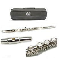 Legacy FL750 Intermediate Sterling Silver Plated Flute Outfit with 2 Year Warranty