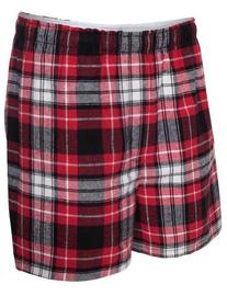 BoxerCraft Men's Flannel Boxers with Covered Waistband, XX-