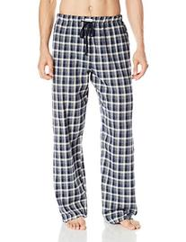 Ben Sherman Men's Flannel New Plaid Lounge Pant, Blue,
